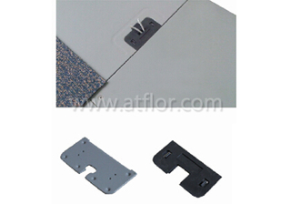 Cutout Bare Steel Raised Access Floor